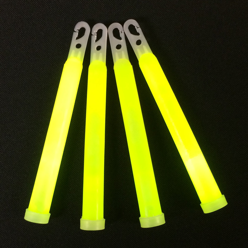 6 Quot Glow Sticks 12 Hour Safety Grade Individually